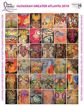 Best Strokes -  formerly Breast Strokes - Hadassah Greater Atlanta - 2018 Commemorative Best Strokes Poster
