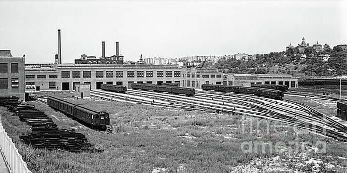 207th Street Railyard by Cole Thompson