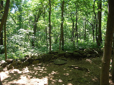 20th Maine Position Little Roundtop by Jessica Hoover
