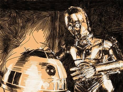 Star Wars Galaxies Art by Larry Jones