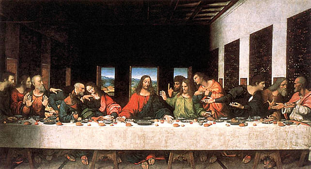 The Last Supper by Troy Caperton