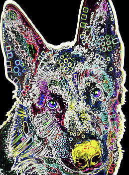 210C German Shepherd by Nixo by Nicholas Nixo