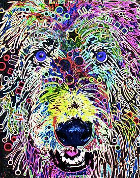 210E, Irish Wolfhound by Nixo by Nicholas Nixo