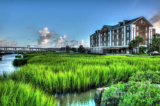 Old Rice Mill Charleston Landmark by Dale Powell