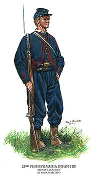 23rd Pennsylvania Infantry by Mark Maritato