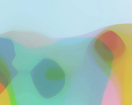 Translucent Abstractions Series by Ricki Mountain