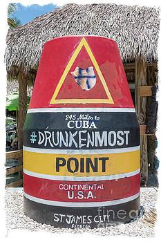 245 Miles To Cuba Drunkenmost Point by Edward Fielding