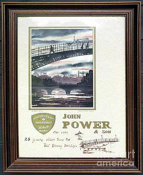 Val Byrne - 25 years older than the Hapenny Bridge