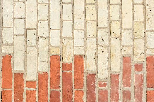 Brick wall by Tom Gowanlock