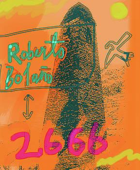 Paul Sutcliffe - 2666 roberto bolano  poster