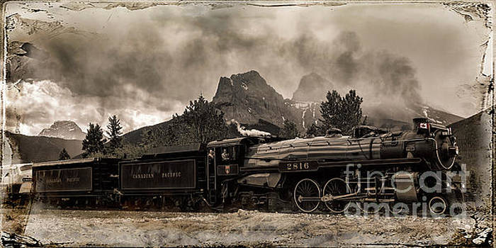 2816 Empress at Three Sisters - Canmore by Brad Allen Fine Art