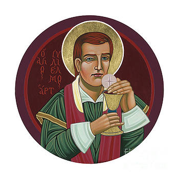 297 Holy Martyr Blessed William Hart -1583 by William Hart McNichols
