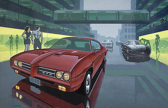 2nd Street GTO by Guy Radcliffe