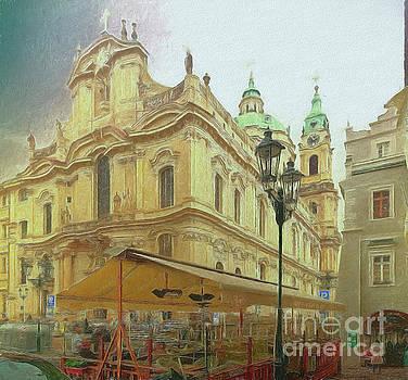 2nd work of St. Nicholas Church - Old Town Prague by Leigh Kemp