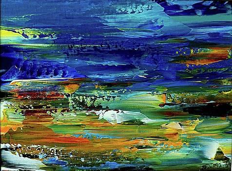 Abstract Landscape by Nelu Gradeanu