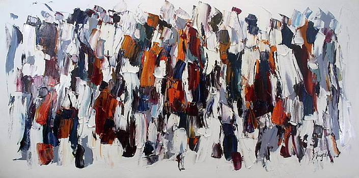 Abstract Painting by Angel Chau