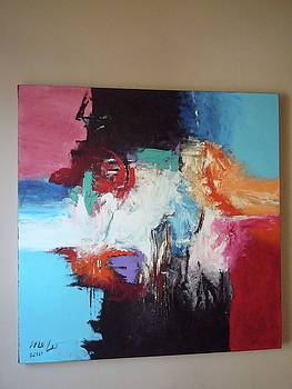 Abstract Painting by Emillie Melo