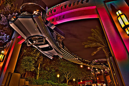 Aerosmith Rock 'n' Roller Coaster HDR by Jason Blalock