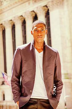 Alexander Image - African American Teenage Boy Traveling in New York