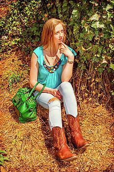 Alexander Image - American Teenage Girl Casual Fashion in New York