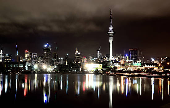 Auckland New Zealand by Mark Duffy
