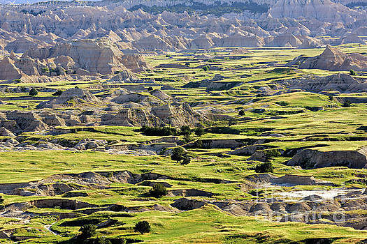Badlands National Park South Dakota by Louise Heusinkveld