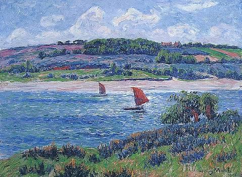 Balon River by Henri Moret