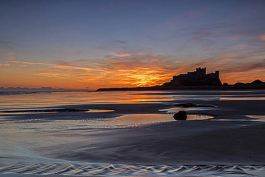 David Pringle - Bamburgh Castle Sunrise