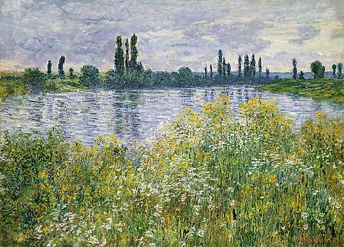 Claude Monet - Banks of the Seine, Vetheuil