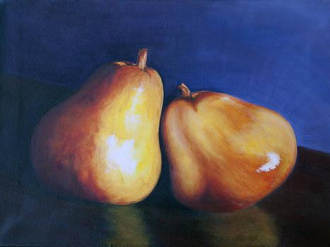 3 Bartlett Pears by Dinny Madill