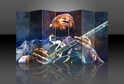 BB King by Marvin Blaine