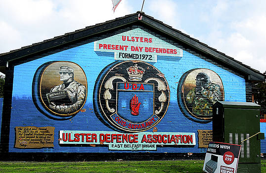 Donna Shaw - Belfast Mural