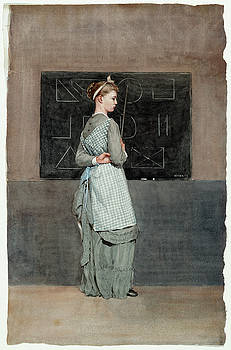 Winslow Homer -  Blackboard