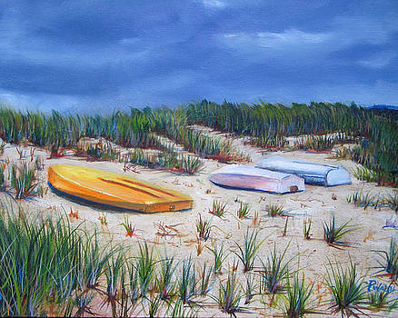3 Boats by Paul Walsh