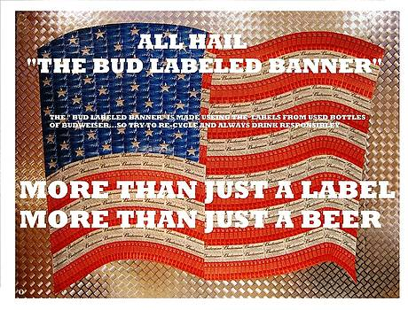 Bud Label Banner by Anthony Lakes
