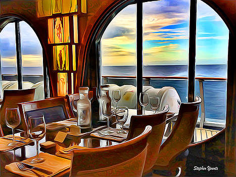Carnival Pride Normandie Restaurant by Stephen Younts