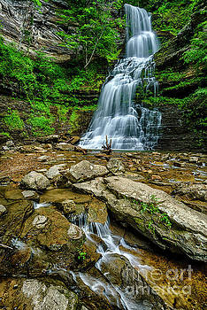 Cathedral Falls by Thomas R Fletcher