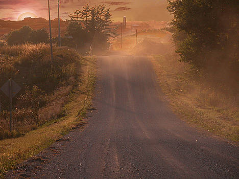 Country road by Jim Wright