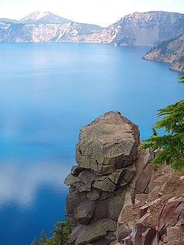 Crater Lake by Marta Mannenbach