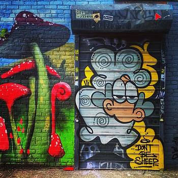 #dailywalk #brooklynartists #streetart by Visions Photography by LisaMarie