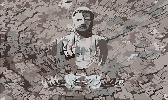 3 Dimension Buddha by Sneha Waghmare