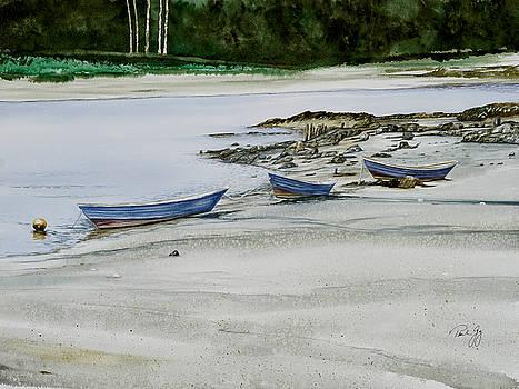 3 Dories Kennebunkport by Paul Gaj