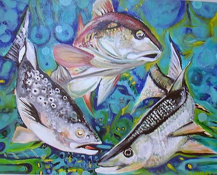 3 Fish by Ottoniel Lima