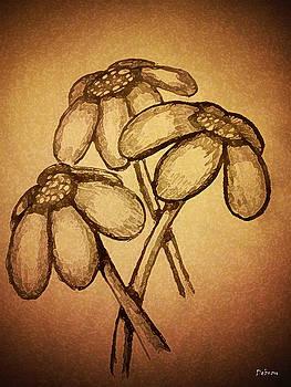 3 Flowers by Deborah Rosier