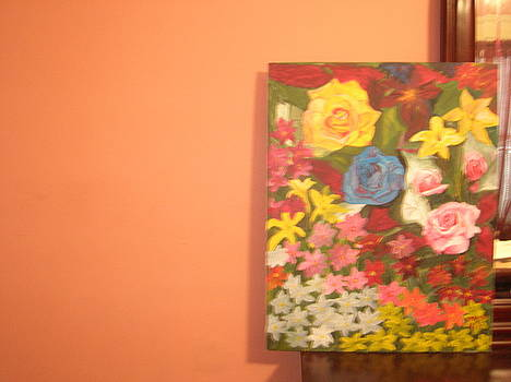 Flowers by Zeenath Diyanidh