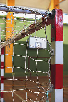 Eduardo Huelin - football or handball playground Gate net