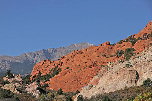 Garden of the Gods Colorado 2 10232017  by David Frederick