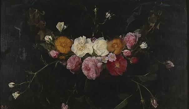 Garland of roses by Daniel