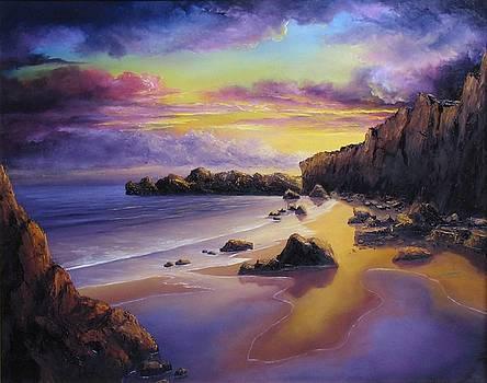 Golden Sunset by John Cocoris