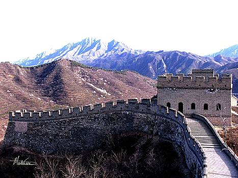 Great Wall by Marti Green